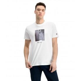 Comprar Champion - Camiseta para Hombre Blanca - Vintage Sports