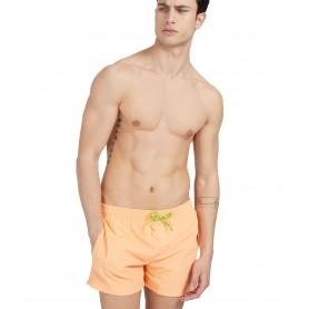 Comprar Guess - Bañador para Hombre Coral - Etiqueta Con Logo
