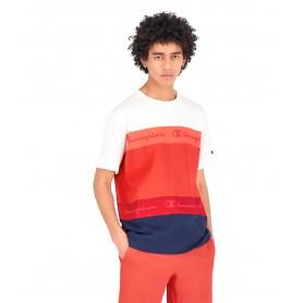 Comprar Champion - Camiseta para Hombre Roja - Stripe Red