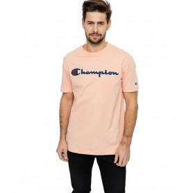 Comprar Champion - Camiseta para Hombre Naranja -Satin Script