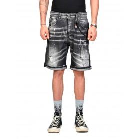 Comprar Xagon Man - Short Jeans Ubaske Black