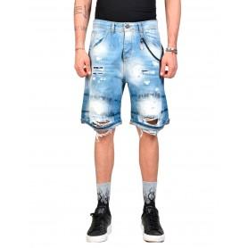 Comprar Xagon Man - Pantalón cortp para Hombre Azul - Short