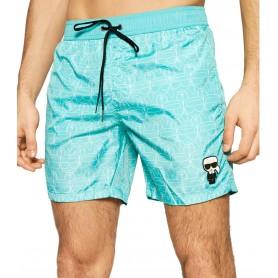 Comprar Karl Lagerfeld - Bañador para Hombre Azul - Carry Over