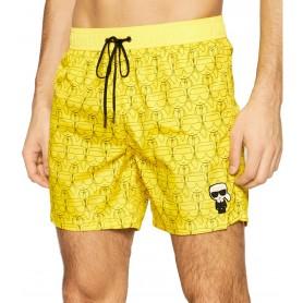 Comprar Karl Lagerfeld - Bañador para Hombre Amarillo - Carry