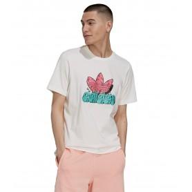 Comprar Adidas - Camiseta para Hombre Blanca - As Tee White