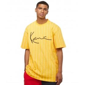 Comprar Karl Kani - Camiseta para Hombre Amarilla - Signature