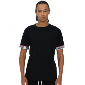 Comprar Moschino Underwear - Camiseta para Hombre Negra- 1929