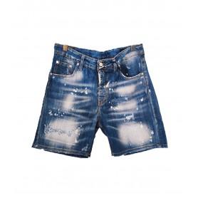Comprar G2Firenze - Short para Hombre Azul - Jeans Laser