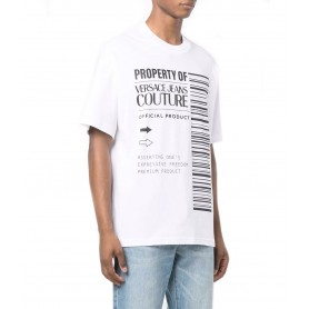 Comprar Versace Jeans Couture - Camiseta para Hombre Blanca -