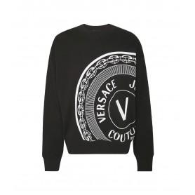 Comprar Versace Jeans Couture - Sudadera para Hombre Negra -