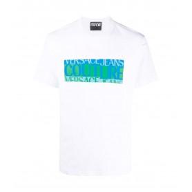 Comprar Versace Jeans Couture - Camiseta paras Hombre Blanca -
