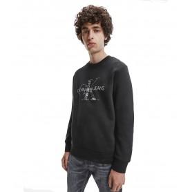 Comprar Calvin Klein Jeans - Sudadera para Hombre Negra -