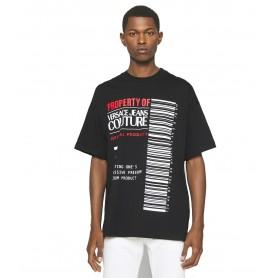Comprar Versace Jeans Couture - Camiseta Hombre Negra -