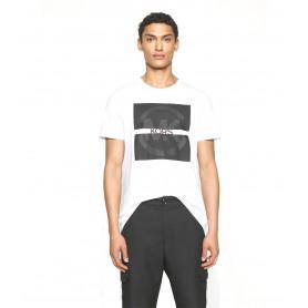 Comprar Michael Kors - Camiseta para Hombre Blanca - Split Logo