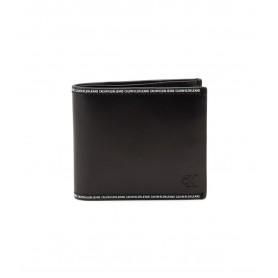 Comprar Calvin Klein - Cartera para Hombre Negra - Logo Tape