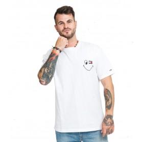 Comprar Tommy Jeans - Camiseta para Hombre Blanca - Smiley