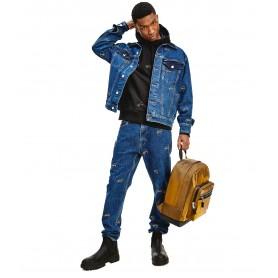 Comprar Tommy Jeans - Jeans para Hombre AZUL - Reg Logo Blue