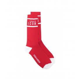 Comprar Dsquared2 - Calcetines para Hombre Rojos - Mid Crew