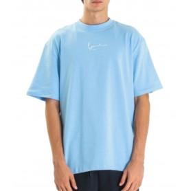 Comprar Karl Kani - Camiseta para Hombre Azul - Small Signature