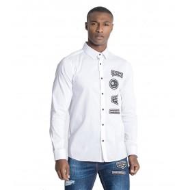 Comprar Camisa 2465 Gianni Kavanagh White Text Me Shirt