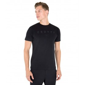 Comprar Cruyff - Camiseta para Hombre Negra - Lux SS tee Black
