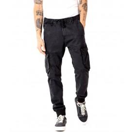 Comprar Reell - Pantalón para Hombre Negro - Reflex Rib Cargo