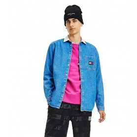 Comprar Tommy Jeans - Camisa para Hombre Azul - Heavy Denim Blue