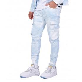 Comprar Project X Paris - Pantalón para Hombre Azul - Estampado