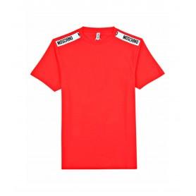 Comprar Moschino - Camiseta para Hombre Roja - Franja Underwear