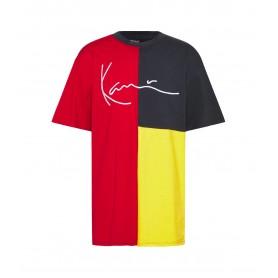 Comprar Karl Kani - Camiseta para Hombre Roja - Signature Block