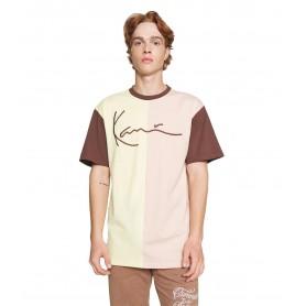 Comprar Karl Kani - Camiseta para Hombre Amarilla - Siganture