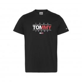 Comprar Tommy Jeans - Camiseta para Hombre Negra - Essential