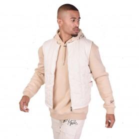 Comprar Project X Paris - Chaleco para Hombre Beige - Acolchado