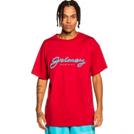 Comprar Grimey - Camiseta para Hombre Roja - Martinica Fact Tee