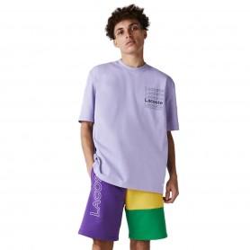 Comprar Lacoste - Camiseta para Hombre Morado - Live Loose Fit