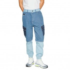 Comprar Karl Kani - Jeans para Hombre Azul - Block Denim Cargo