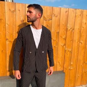 Comprar Finest Milan - Chaqueta para Hombre Negra - Gessata