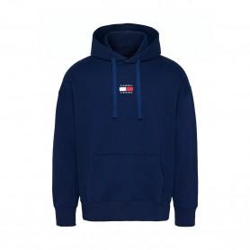 Comprar Tommy Jeans - Sudadera para Hombre Azul - Badge Hoodie