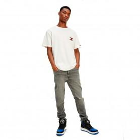 Comprar Tommy Jeans - Camiseta para Hombre Blanca - Vintage