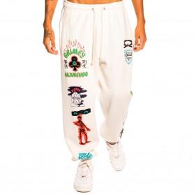 Comprar Grimey - Pantalón para Hombre Blanco - Destroy All Fear