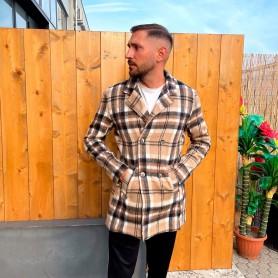 Comprar Finest Milan - Chaqueta para Hombre Beige - Cappotto