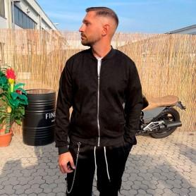 Comprar Finest Milan - Chaqueta para Hombre Negra - Bomber