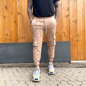 Comprar Finest Milan - Pantalón para Hombre Beige - Cargo