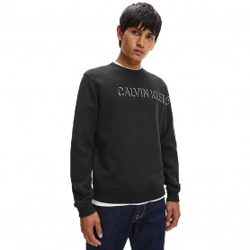 Comprar Calvin Klein - Sudadera para Hombre Negra - Jeans