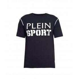 Plein Sport T-shirt Round Neck SS Tennis
