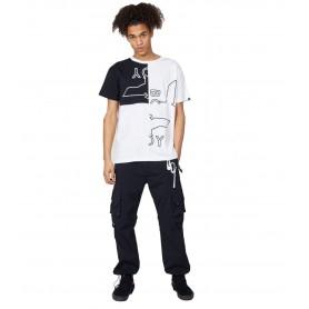 Comprar Camiseta Boy London BSTBW19 Boy Skew Tee Black/White