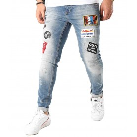 Comprar Jeans Uniplay 272 Patches Blue