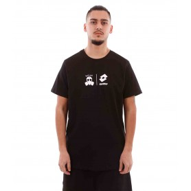 Comprar Camiseta Butnot L901-1 Double Logo T-shirt Black