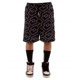Comprar Pantalon Corto Butnot L9129-5 Acetate Shorts Logo Black