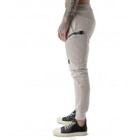 Comprar Pantalon AM Couture Tasconi Zip Beige